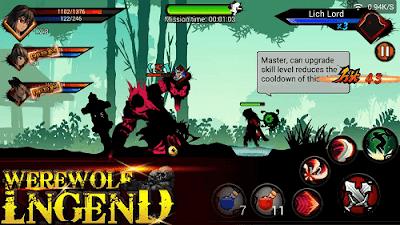 Werewolf Legend v2.0 Mod Apk (Mega Mod)