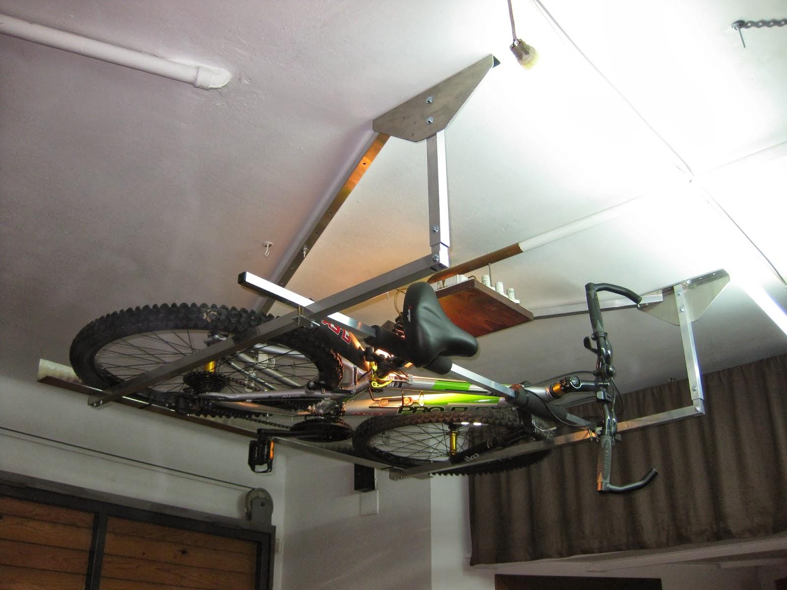 Macsis Un Nuevo Sistema Para Guardar Nuestra Bicicleta Mtbymas - Colgar-bici-techo