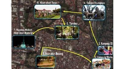 tujuh tempat wisata gratis di kota malang