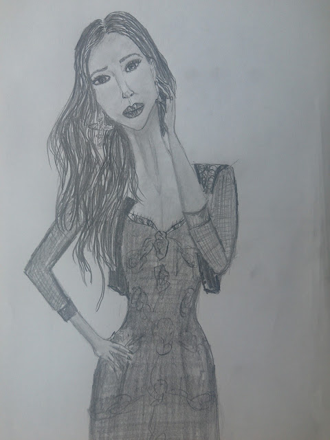 #fashionillustration #drawing #art