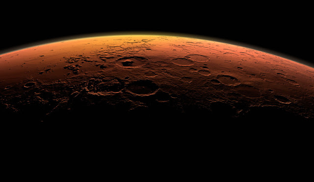 Mars growth stunted by early giant planetary instability