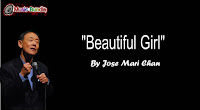 Beautiful Girl  By Jose Mari Chan (Karaoke, Mp3, Minus One  and Lyrics) Free Download