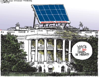 Because without failed solar energy companies to prop up, what's the US going to do with all that money?