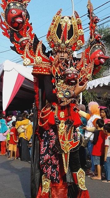 Foto Pemenang The Carubn Carnival dari SMAN 1 Plumbon
