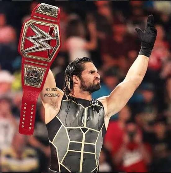 Seth rollins is your new universal champion!!