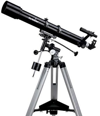 Teleskop: Sejarah, Pengertian dan Bagian - Bagian