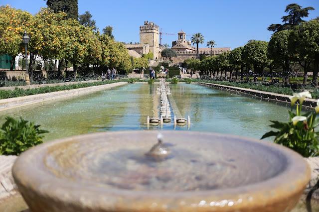 Alcázar de los Reyes Cristianos vista desde los Jardines
