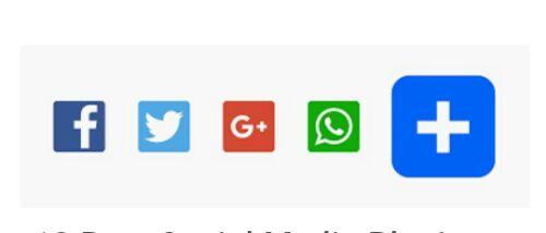 Blog par social share botton kaise lagaye