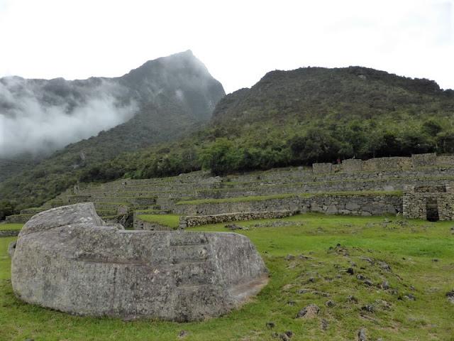 Machupicchu, piedra de sacrificios