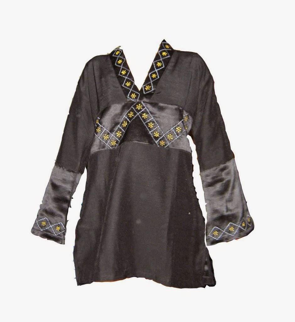 Model Baju Batik Kerja Atasan Muslim: Model Baju Muslim Atasan Wanita Trendy Terbaru