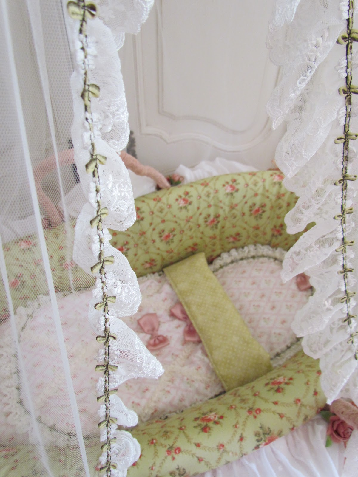 Baby Under Blanket Top Cake