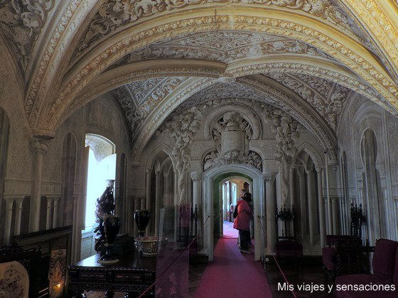 Salón Árabe, Palacio da Pena, Sintra, Portugal