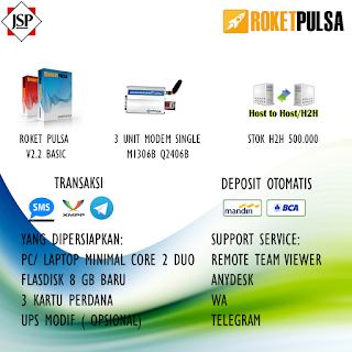 Jual Mesin Server Pulsa