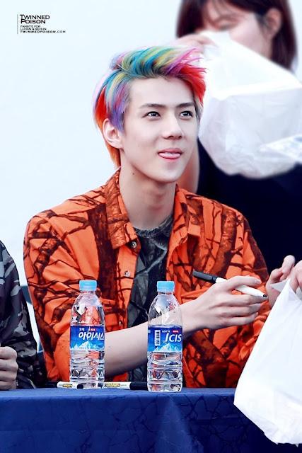 Rainbow Sehun EXO