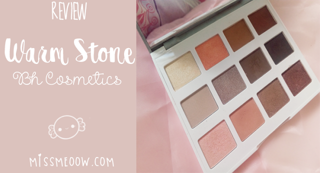 Paleta De Sombras Warm Stone | BH Cosmetics