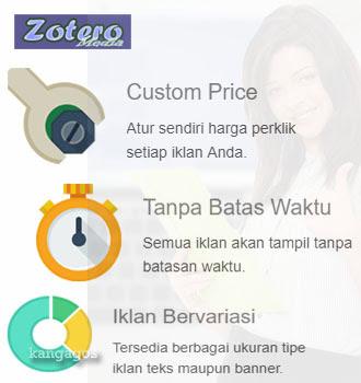 Keuntungan pasang iklan murah di Zoteromedia.com