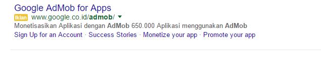 Sponsor Google Admob