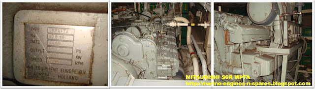 Mitsubishi marine engine parts for sale, Mitsubishi S6R marine engine parts for sale
