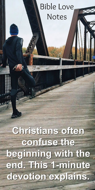 What keeps Christians in the race of faith