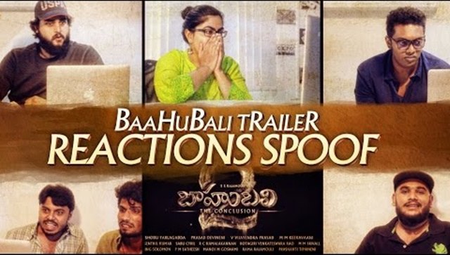 Baahubali 2 Trailer Reactions Spoof