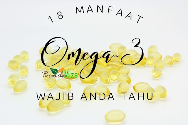 OMEGAGUARD SHAKLEE : 18 MANFAAT OMEGA-3 WAJIB ANDA TAHU
