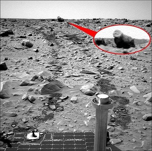 Mars'ta Görünenler Canlı Mı
