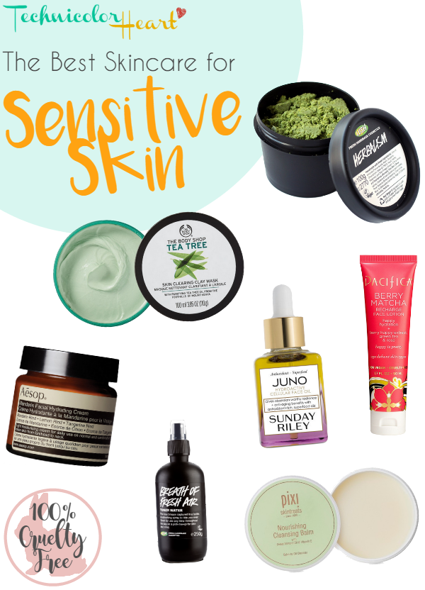 sensitive skin skincare