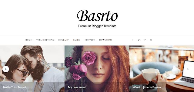 Bastro Blogger Template