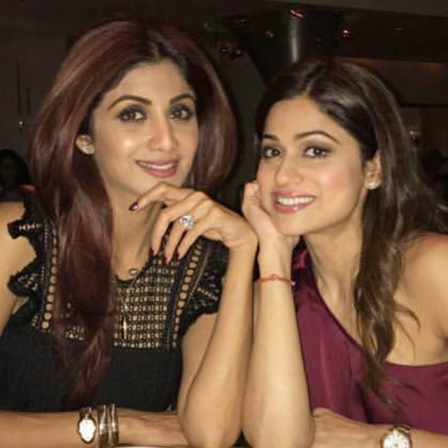 Shilpa and Shamita Shetty's London Trip
