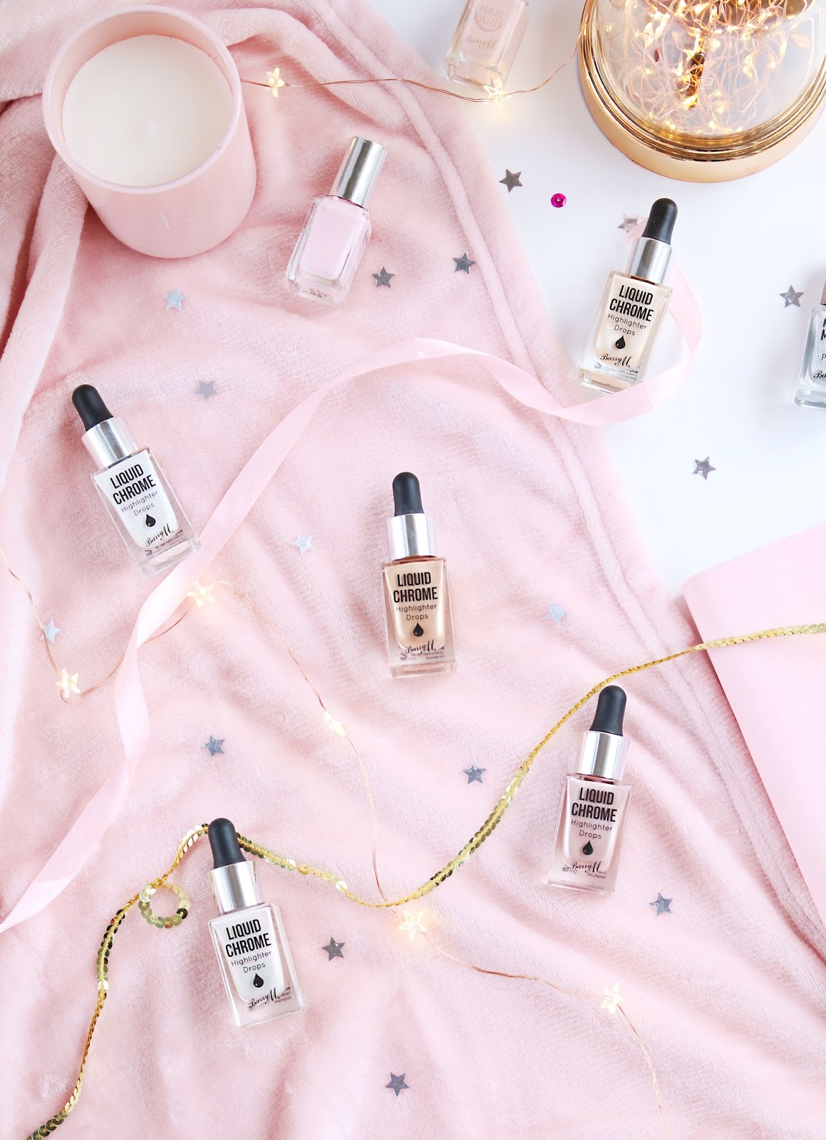 Barry M Liquid Chrome Highlighter Drops, Barry M new highlighter, Barry M, liquid highlighter, barry m chrome highlighter drops review, Beauty, Drugstore, Highlighters, Make Up,