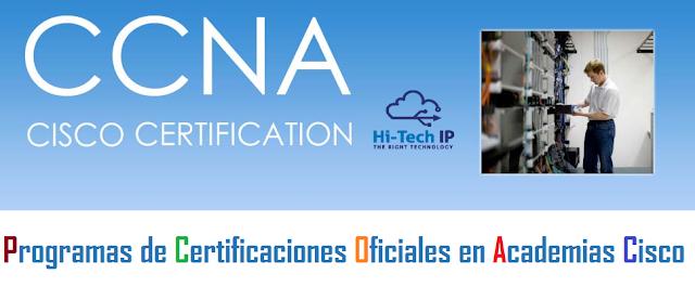 Certificaciones Oficiales en Academias Cisco