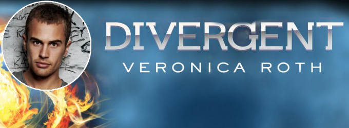 Theo James for Divergent Movie Adaptation