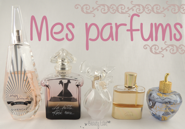 collection de parfums