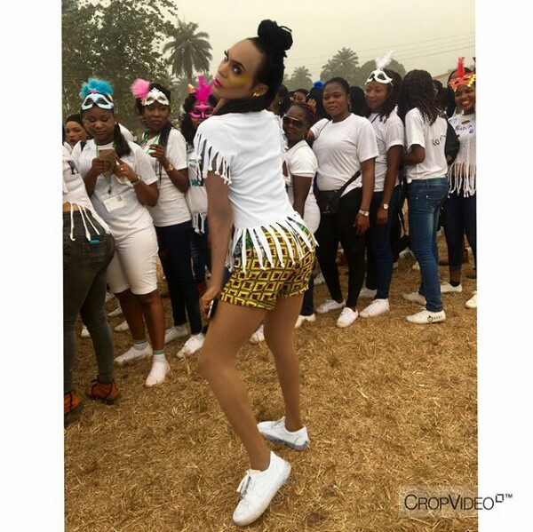"""IMG 20171212 102926 705 - """"I have never been this loved in my life"""" - New Bobrisky Spotted At Delta NYSC Camp Reveals"""