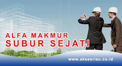 Lowongan PT. Alfa Makmur Subur Sejati Pekanbaru Oktober 2017