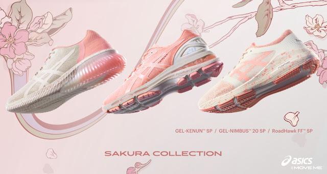 Nueva colección Sakura de Asics