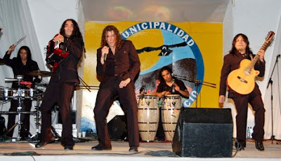 Foto del grupo La Noche en el escenario