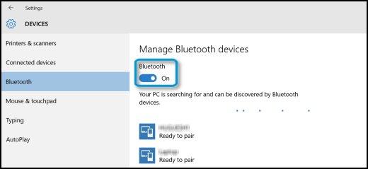 connecter un appareil bluetooth windows 1