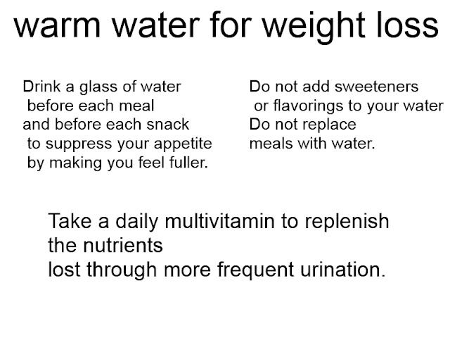 Loose Weight With Water