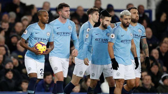 Klasemen Liga Inggris Usai Manchester City Menang Melawan Everton 2019