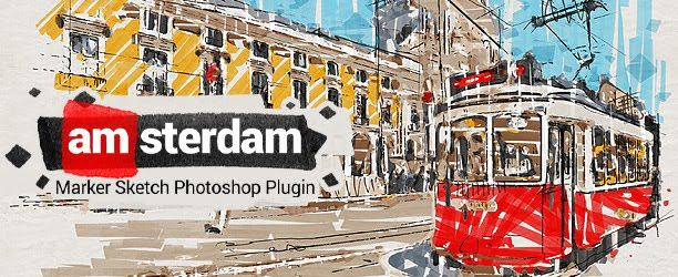 Marker Sketch Toolkit - Amsterdam - Photoshop Plugin Download Free