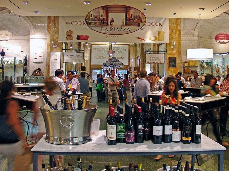 La Piazza chez Eataly New York