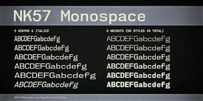 NK57 Monoscape free Font Terbaik Untuk Desain Pakaian Distro