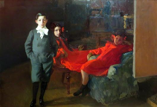 Mis hijos, Joaquín Sorolla Bastida, Retratos de Joaquín Sorolla, Joaquín Sorolla y Bastida, Joaquín Sorolla, Pintor español, Retratista español, Pintores Valencianos