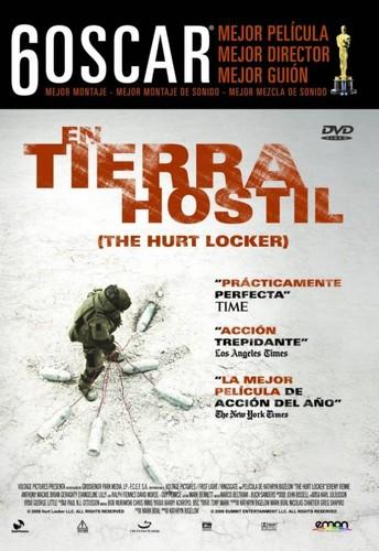 En tierra hostil (2008) [BRrip 1080p] [Latino] [Bélico]
