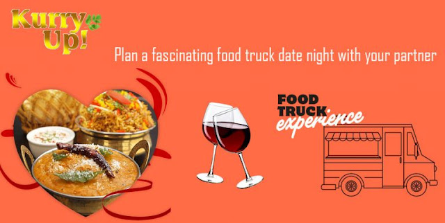 food truck date night with your partner