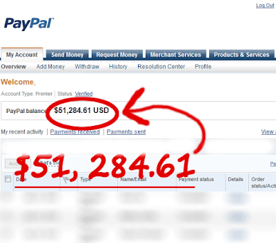 Paypal - Add Money Unlimited to your Paypal Account: Paypal