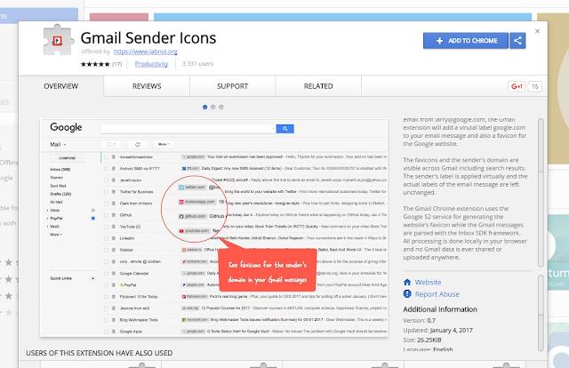 طريقة مميزة لمعرفة مصدر أي رسالة على بريد Gmail من خلال هذه الإضافة الرائعة والمميزة !