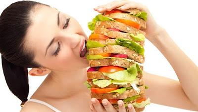 over eating, makan terlalu banyak, banyak makan, animasi orang makan, gambar orang makan
