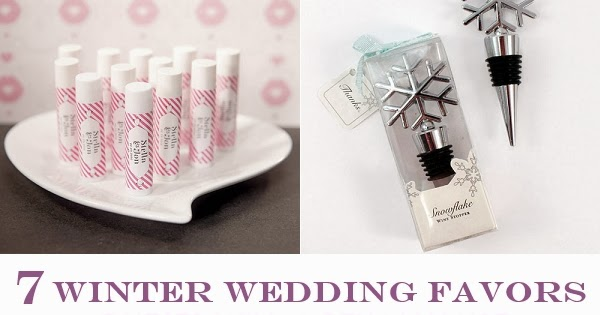 Winter Wedding Gifts: 7 Winter Wedding Favors Guests Will Actually Use